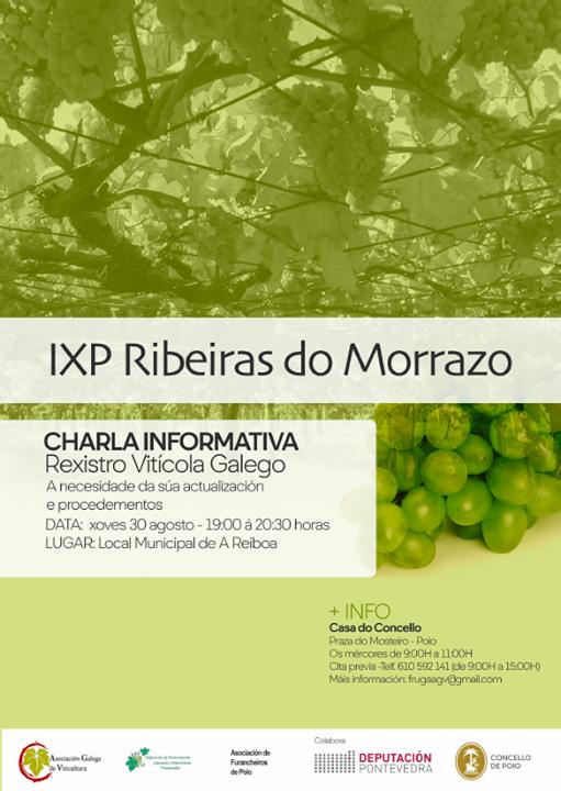 Charla informativa sobre o Rexistro Vitícola Galego